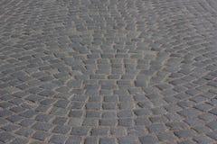Old road cobblestone Stock Photo