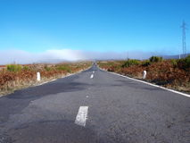 Old road in Madeira. Old but nice road in Madeira island stock photo