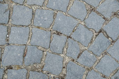 Old road paved Royalty Free Stock Photography