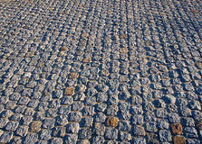 Old road pavement Stock Photography