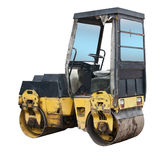 Old road roller Royalty Free Stock Photo