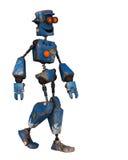 Old robot  just walking Royalty Free Stock Photos