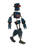 Old robot walks Stock Images