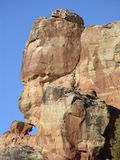Old Rock. Formation in Canyon of the Ancients, Colorado Stock Photography