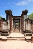Old rock castle. Entrance of old rock castle in thailand Stock Image
