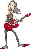 Old rock man cartoon illustration Stock Image
