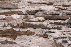Old Rock and Mortar Wall Stock Photo
