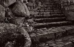 Old rock stairs. Stock Photography