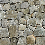 Old rock wall Stock Photo