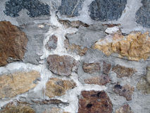 Old Rock Wall. Stock Images