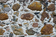 Old rock wall. Texture of the old wall stone wall Stock Image