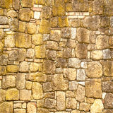 Old rock wall  in vintage style Royalty Free Stock Photos