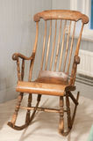 Old rocking chair Royalty Free Stock Image