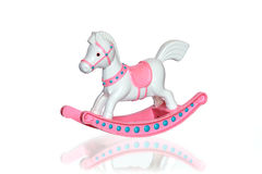 Old Rocking Horse Stock Images
