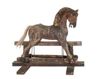 Old rocking horse Royalty Free Stock Photo