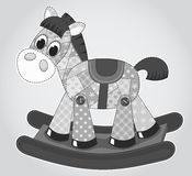 Old rocking horse. Stock Image