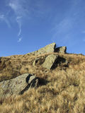 Old Rocks. Ancient stones on the top of the mountain Stock Photo