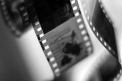 old roll films Royalty Free Stock Photography