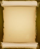 Old rolled parchment paper background stock images
