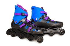 Old roller skates Royalty Free Stock Photo
