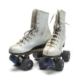 Old Roller Skates Stock Photography