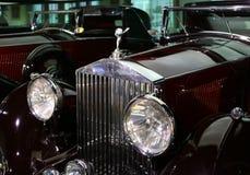 Old Rolls-Royce Car Stock Image