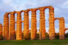 Old roman aqueduct Stock Images