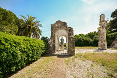 Free Old Roman Architecture - Ruins Of An Archway In Sestri Levante, Liguria Italy Stock Photo - 72625990