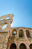 Old roman arena, ancient roman ampitheater in Verona, Italy Royalty Free Stock Photos