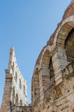 Old roman arena, ancient roman ampitheater in Verona, Italy Royalty Free Stock Photography