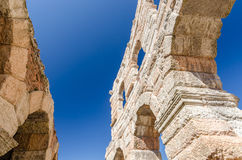Old roman arena, ancient roman ampitheater in Verona, Italy Stock Image