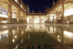 Old Roman Baths Royalty Free Stock Photo