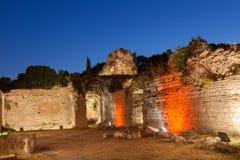 Old Roman Baths of Odessos, Varna, Bulgaria Royalty Free Stock Images