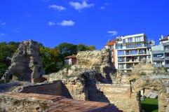 Old Roman Baths, Varna Bulgaria Royalty Free Stock Photos