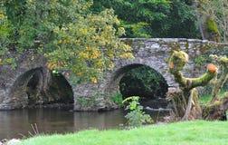 The old Roman bridge.. royalty free stock images