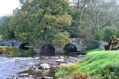 The old Roman bridge.. stock image