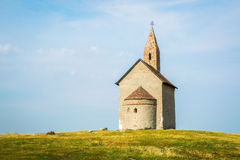 Old Roman Church in Drazovce, Slovakia Stock Image
