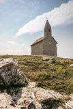 Old Roman Church in Drazovce, Slovakia Royalty Free Stock Photo