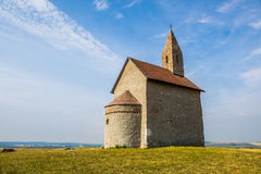 Old Roman Church in Drazovce, Slovakia Royalty Free Stock Photos