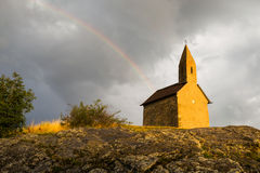 Free Old Roman Church In Drazovce, Slovakia Stock Image - 51896761