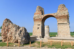 Old Roman City Gate (Heidentor) Royalty Free Stock Images