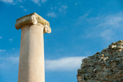 Old roman columns Royalty Free Stock Photography