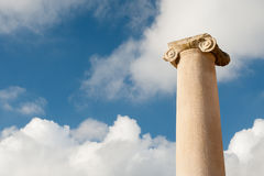 Old roman columns Stock Images