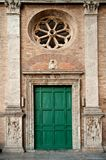 Old roman facade Royalty Free Stock Photography