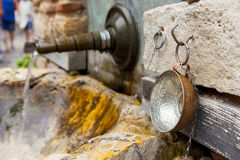Old Roman fountain_2 Stock Photos