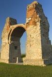 Old Roman Gate. (Heidentor) at Carnuntum, Austria (Europe Royalty Free Stock Photo