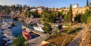Old Roman Harbor, Antalya, Turkey Royalty Free Stock Images