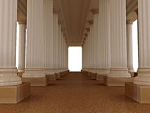 Old roman palace Stock Image