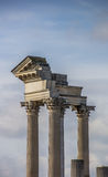 Roman pillars in the archeological park of Xanten Royalty Free Stock Photos