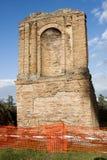 Old Roman ruin in Via Appia Antica (Rome, Italy) Stock Photos